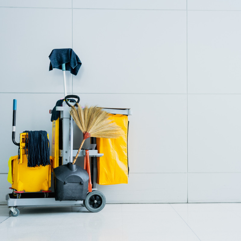 Cleaning equipment for schools, care homes, health care and hospitality