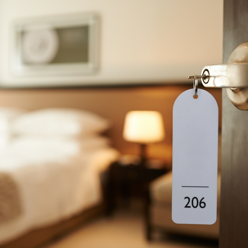 Hotel cleaning, hygiene and ppe supplies