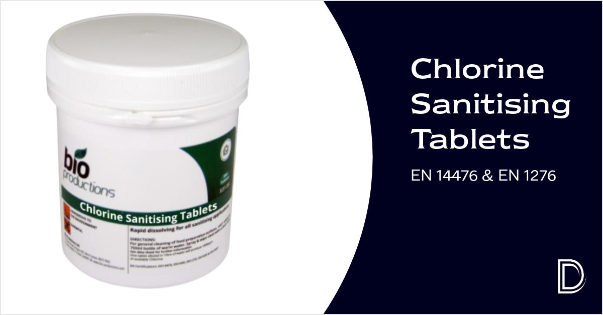 Bio-Productions Chlorine Sanitising Tablets