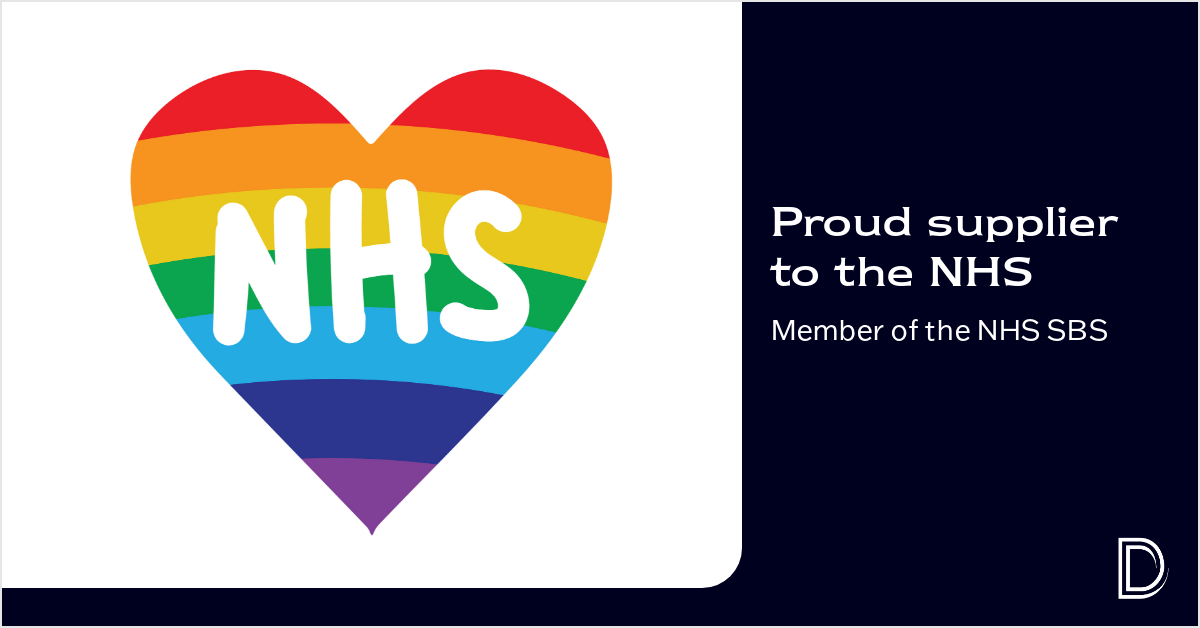 Proud Suppliers to the NHS