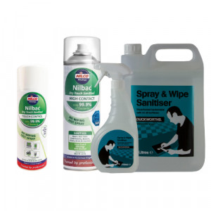 Surface Sanitisers & Cleaners