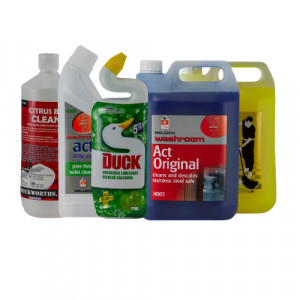 Washroom Cleaners & Disinfectants