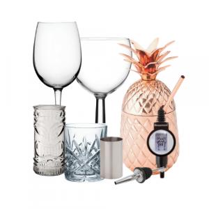 Home Bar Supplies & Glassware