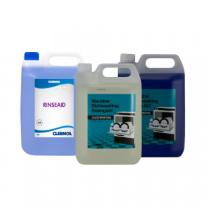 Machine Detergents & Rinse Aid