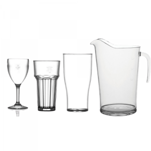 Plastic & Polycarbonate Glassware