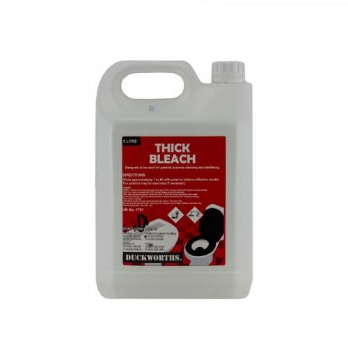duckworth's thick bleach 5 litre