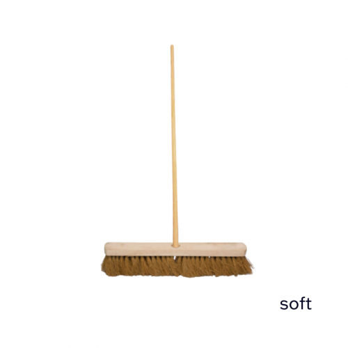 """18"""" Soft Sweeping Brush 5ft Staile"""