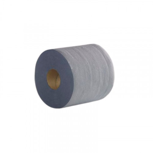 blue 2 ply embossed centrefeed