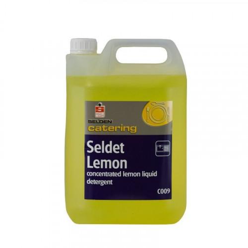 seldet lemon 20% active washing up liquid 5 litre