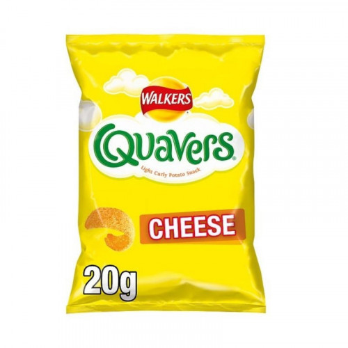 walkers cheese quavers
