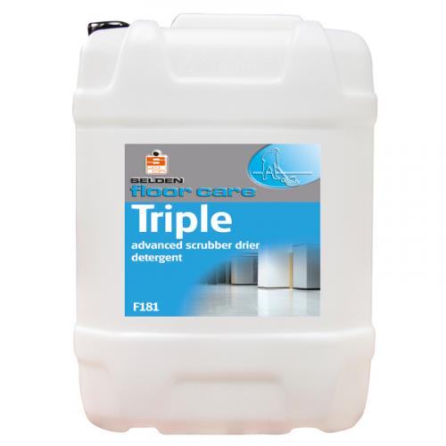 Triple Advanced Scrubber Drier Detergent 5L