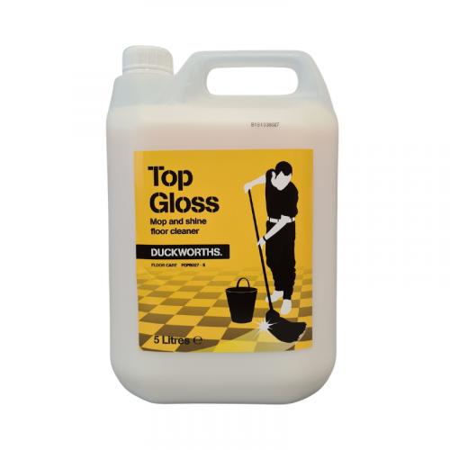 Duckworth Top Gloss Mop & Shine Floor Maintainer 5L