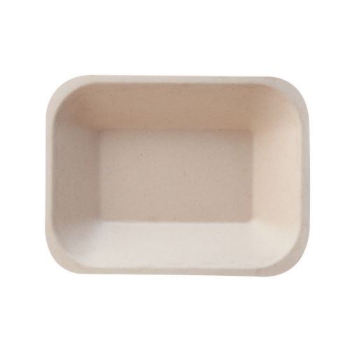 Eco-Fibre Small Food Tray 16.5x12.5x3cm