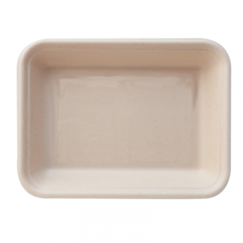 Eco-Fibre Large Food Tray 22x13.5x3cm