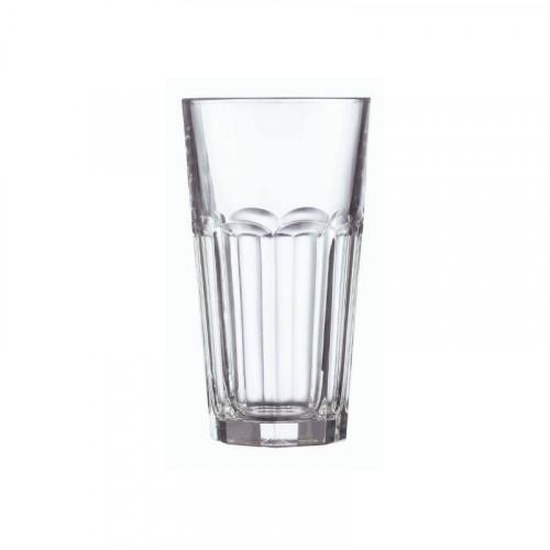 10oz casablanca beverage glasses plain