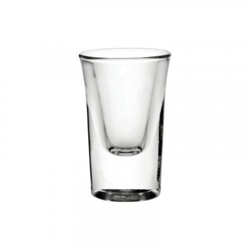 25ml heavy based boston shot glass