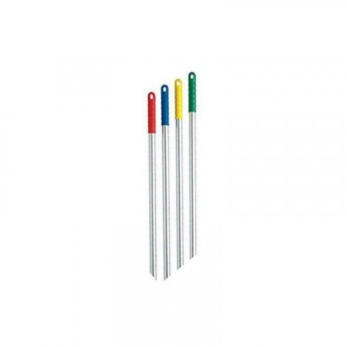 1.2m RED GRIP ALUMINIUM MOP HANDLE WITH SCREW FITTING