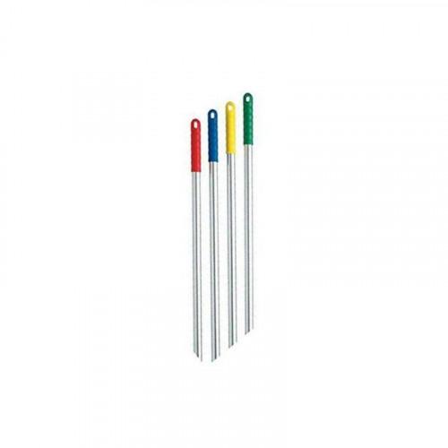 1.2m Blue Grip Aluminium Handle with Screw Fitting
