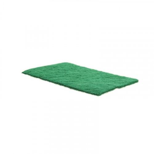 green scourer pad