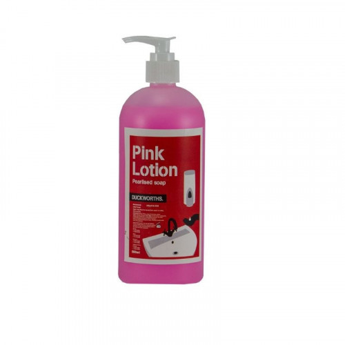 duckworth's pink pearlised lotion soap