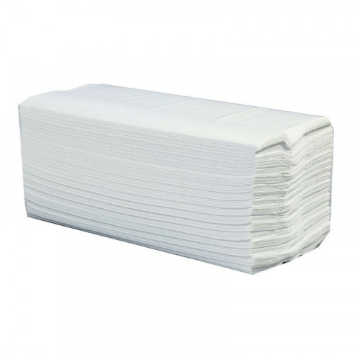 White Multifold 2 Ply Hand Towels