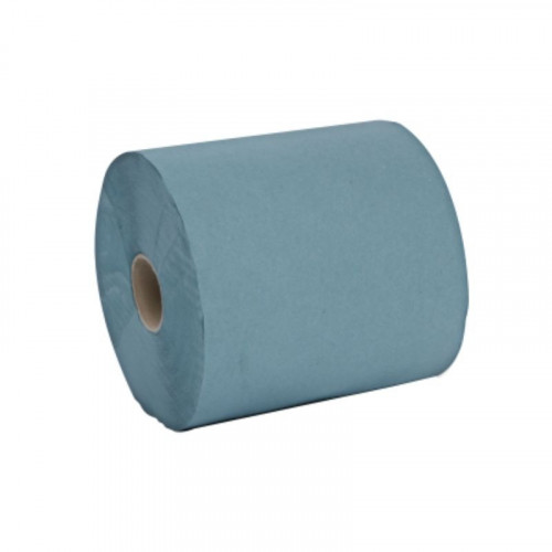 Blue 1ply Towel Roll 175m 50mm core