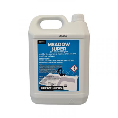Duckworth Meadow Super 25% Washing Up Liquid 5L