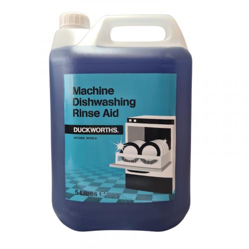 Duckworth Rinse Aid For Machine Dishwash 5L