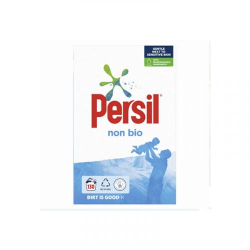 persil professional non-biological washing powder 130 wash