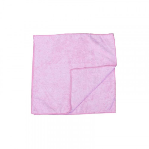 red microfibre cloth