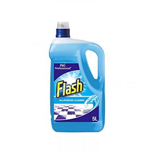 Flash Liquid Ocean Hard Surface Cleaner 5L