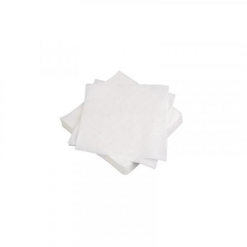 25cm 2 ply white cocktail napkins