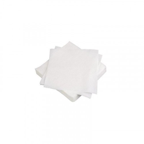 25cm 2 ply white cocktail napkins