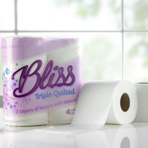 luxury quilted 3 ply toilet roll