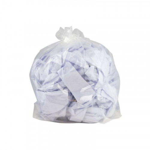 clear heavy duty refuse sack