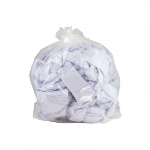 clear medium duty bin bags
