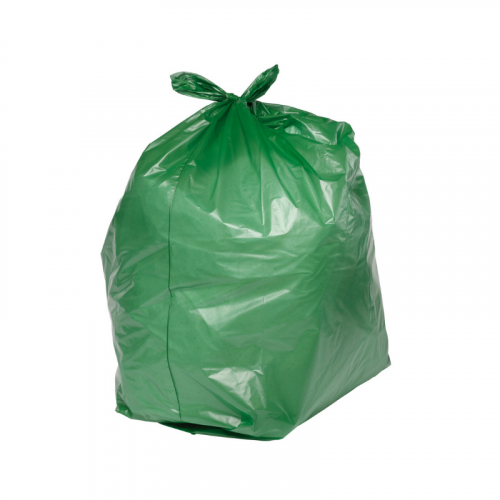 "Green Refuse Sacks 18"" x 29"" x 39"""