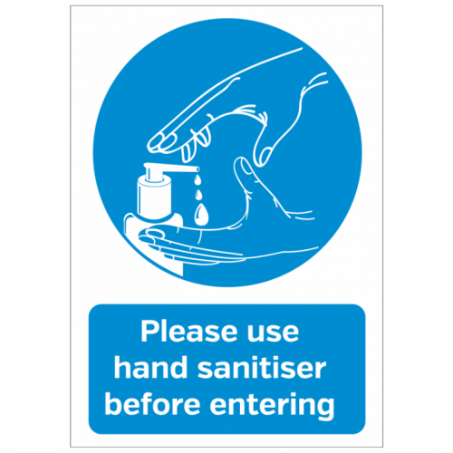 A4 'Please Use Hand Sanitiser' Poster SD147