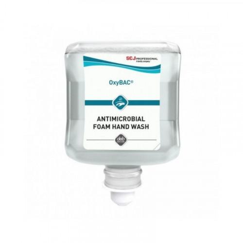 deb oxybac foam handwash 1 litre