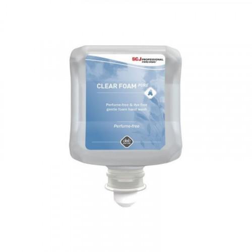 deb clear foam soap
