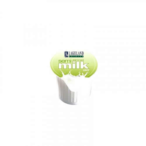 semi skimmed milk portions