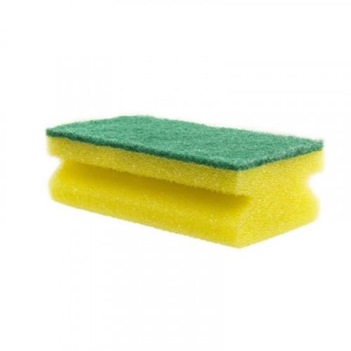 sponge back scourer