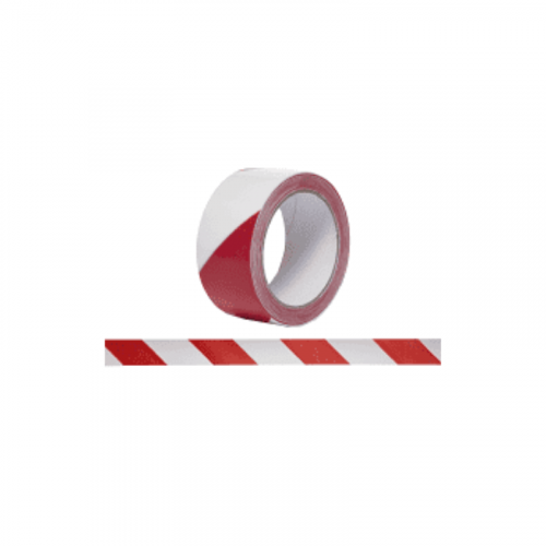 Red / White Non Adheshive Barrier Tape75mm x 500m