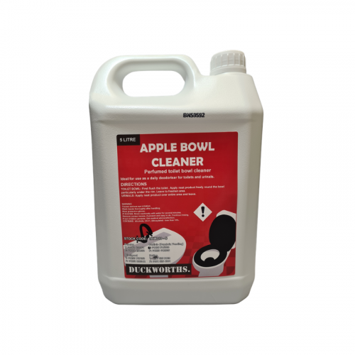 Duckworth Apple Toilet Bowl Cleaner 5L