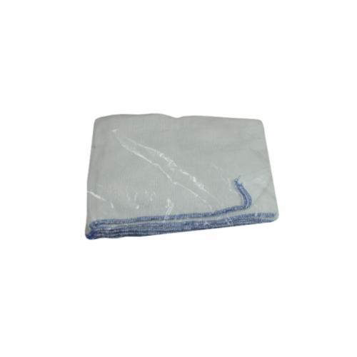 blue trim dishcloth