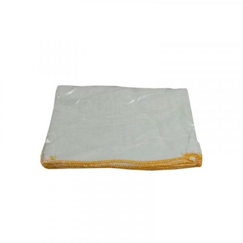 yellow trim dishcloth