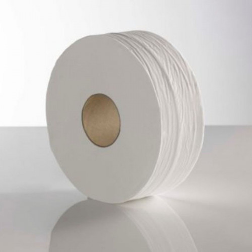 recycled mini jumbo 2 ply toilet rolls large core 400 / 76