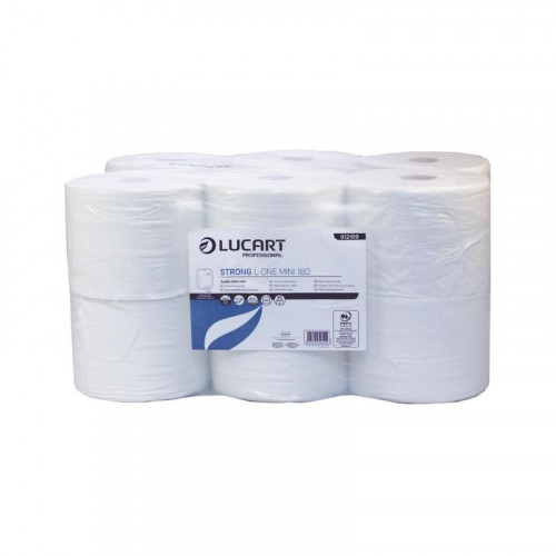 lucart l-one mini pure toilet tissue