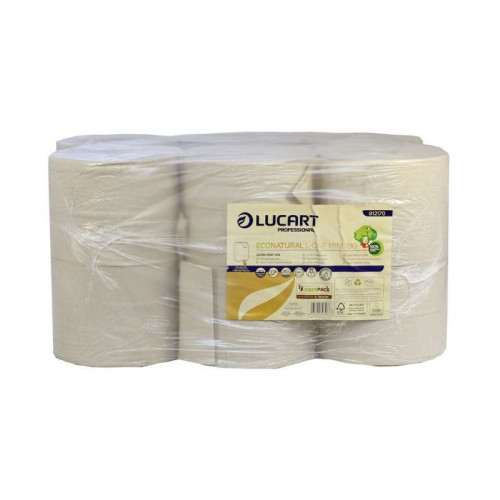 lucart l-one mini eco natural toilet tissue