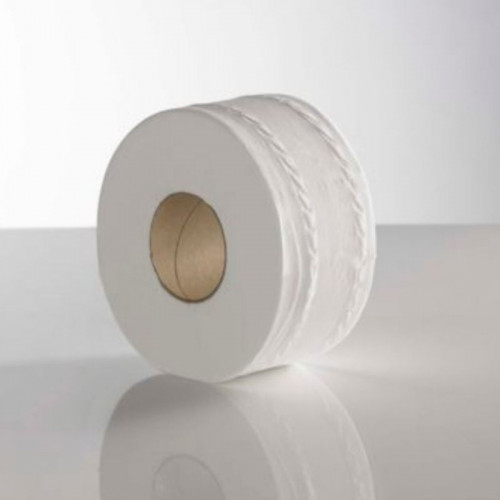 pure mini jumbo 2 ply toilet rolls standard core 150 / 60